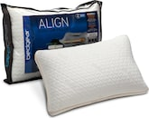 Mattresses and Bedding-Align II Jumbo/Queen Side Sleeper Pillow