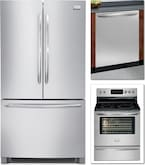Cooking Products - Frigidaire 3 Pc. Appliance Package<br>Model FGHN2866PF / CG