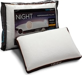 Mattresses and Bedding-Night Jumbo/Queen Side Pillow