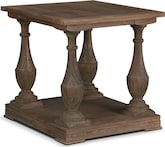 Accent and Occasional Furniture-Pembrooke End Table