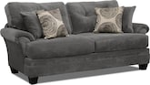 Living Room Furniture-Catalina Gray Sofa