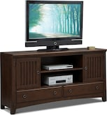 Entertainment Furniture-Wentworth II Dark TV Stand