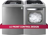 Washers and Dryers - LG Appliances Collection<br>Model WT1201CV/DLEY1201V