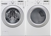 Washers and Dryers - LG Appliances Collection<br>Model WM3050CW/DLE3050W