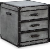 Accent and Occasional Furniture-Sturgess Trunk End Table