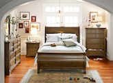 Bedroom Furniture-The Hale Rustic Collection-Hale Rustic Queen Bed