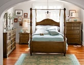 Bedroom Furniture-The Hale Rustic Canopy Collection-Hale Rustic Canopy Queen Bed