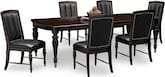 Dining Room Furniture-Eve 7 Pc. Dining Room