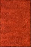 Comfort Rust Shag Area Rug (8' x 10')