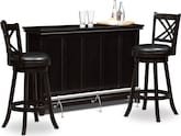 Dining Room Furniture-The Bond II Reilly Collection-Bond II Reilly 3 Pc. Bar Set