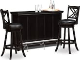 Dining Room Furniture-Bond II Reilly 3 Pc. Bar Set