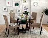 Dining Room Furniture-The Daly Beige Collection-Daly Table