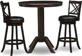 Dining Room Furniture-The Welch Reilly Collection-Welch Reilly 3 Pc. Bar-Height Dinette