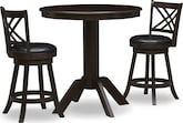 Dining Room Furniture-Welch Reilly 3 Pc. Counter-Height Dinette