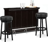 Dining Room Furniture-Bond II Grady 3 Pc. Bar Set