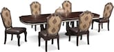 Dining Room Furniture-Rousseau 7 Pc. Dining Room