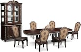 Dining Room Furniture-The Rousseau Collection-Rousseau Dining Table