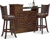 Dining Room Furniture-Hammett Geller 3 Pc. Bar Set