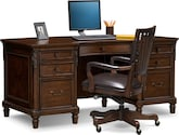 Home Office Furniture-Livingston 2 Pc. Home Office