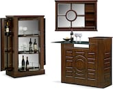 Accent and Occasional Furniture-The Hammett Collection-Hammett Armoire Bar