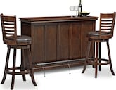 Dining Room Furniture-Bond Turner 3 Pc. Bar Set