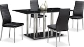 Dining Room Furniture-Fontaine 5 Pc. Dinette