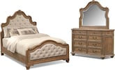 Bedroom Furniture-Danforth 5 Pc. King Bedroom
