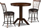 Dining Room Furniture-Welch Lambert 3 Pc. Counter-Height Dinette