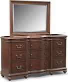 Bedroom Furniture-Broderick Dresser & Mirror