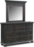 Bedroom Furniture-Newcastle Dresser & Mirror