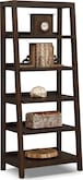 Entertainment Furniture-Greenpoint Bookcase w/ Pull Out Shelves