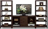Entertainment Furniture-Greenpoint 3 Pc. Entertainment Wall Unit