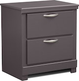 Kids Furniture-Brody Pewter Nightstand