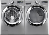 Washers and Dryers - LG Appliances Collection<br>Model WM3370HVA/DLEX3370V