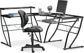Home Office Furniture-Geary Desk and Chair
