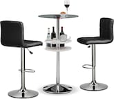 Dining Room Furniture-The Carlo Stroud Collection-Carlo Lighted Bar Table