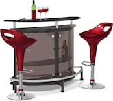 Dining Room Furniture-The Boyd Percy Collection-Boyd Percy 3 Pc. Bar Set