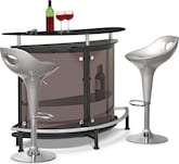 Dining Room Furniture-Boyd Percy 3 Pc. Bar Set