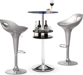Dining Room Furniture-The Carlo II Percy Collection-Carlo II Percy 3 Pc. Bar Set