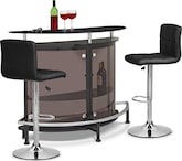 Dining Room Furniture-Boyd Stroud 3 Pc. Bar Set