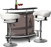 Dining Room Furniture-Boyd Janney 3 Pc. Bar Set