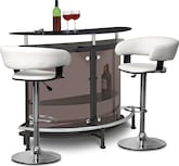 Dining Room Furniture-The Boyd Janney Collection-Boyd Janney 3 Pc. Bar Set