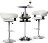 Dining Room Furniture-Carlo II Janney 3 Pc. Bar Set