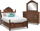 Bedroom Furniture-Clearwater 5 Pc. King Bedroom