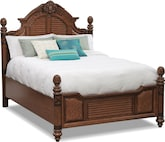 Bedroom Furniture-Clearwater Queen Bed