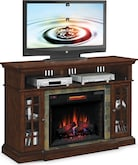 Entertainment Furniture-Rafferty Fireplace TV Stand