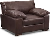 Living Room Furniture-Middlebury Brown Chair