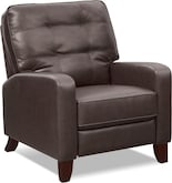 Living Room Furniture-Merced Push-Back Recliner