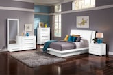 Bedroom Furniture-Prima White 7 Pc. Queen Bedroom (Alternate)