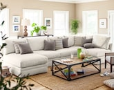 Living Room Furniture-The Adelaide Collection-Adelaide 4 Pc. Sectional